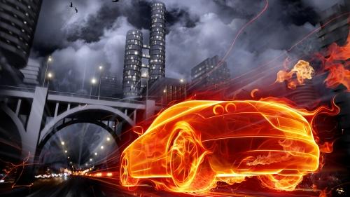 огненный авто