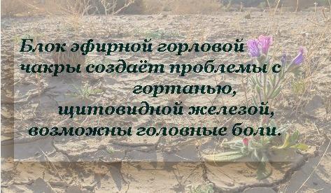 Эфирная Горловая Чакра