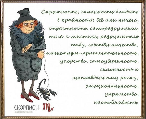 скорпион знак зодиака женщины характеристики