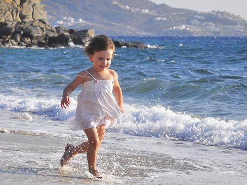 бегущий ребёнок