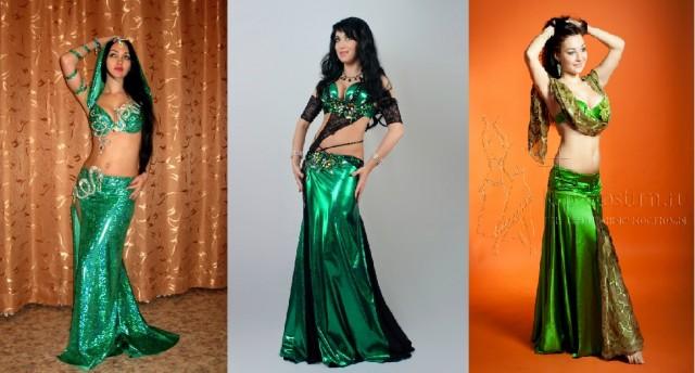 23-25. зеленые восточные костюмы