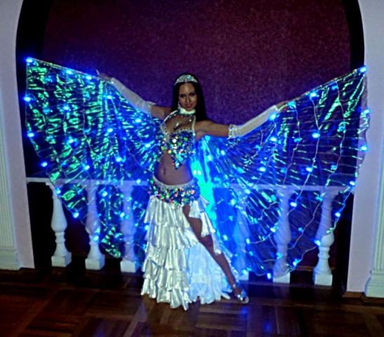 98. крылья для танца живота