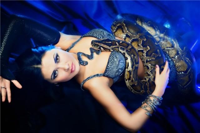 110. змея для танца живота