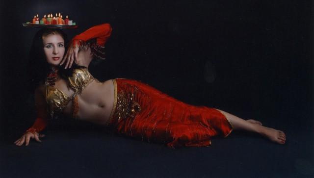 поднос на голову для танца живота