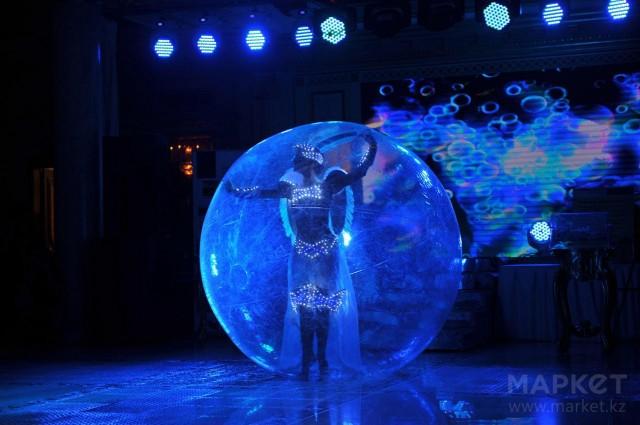 121. большой шар для танца живота