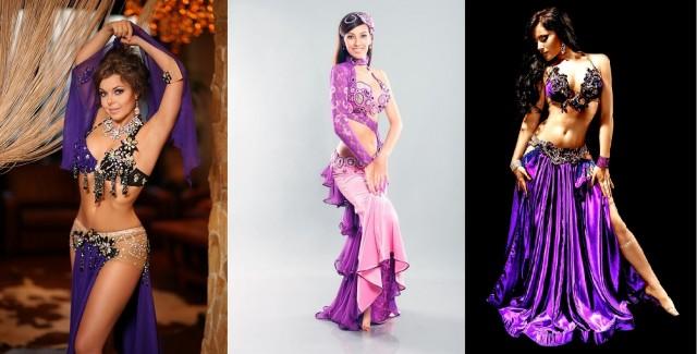 20-22. фиолетовые восточные костюмы