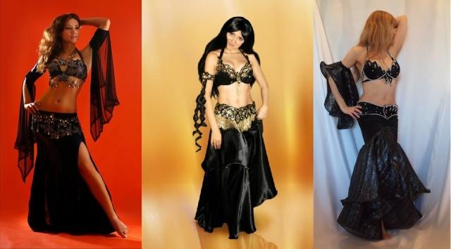 5-7.черные восточные костюмы