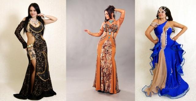 восточные платья для танца живота