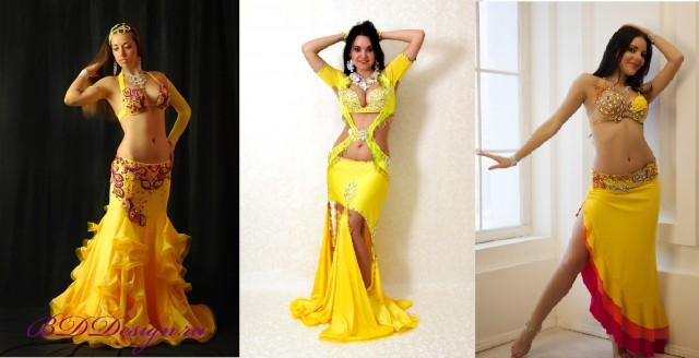 17-19. желтые восточные костюмы