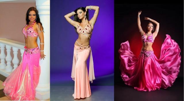 32-34. розовые восточные костюмы