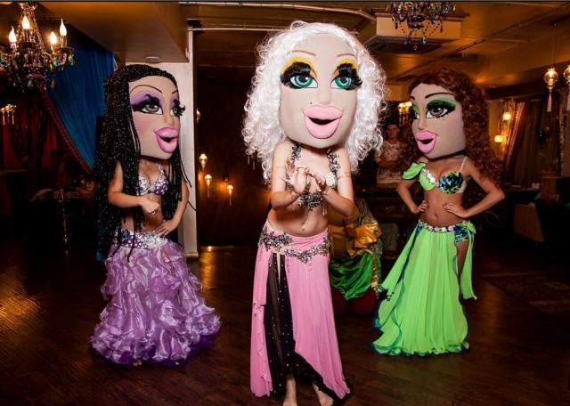 122. ростовые куклы для танца живота